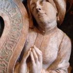 St Anne in silent prayer